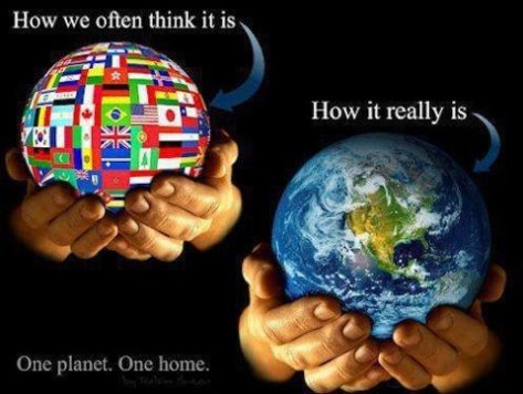 Our planet as it really is