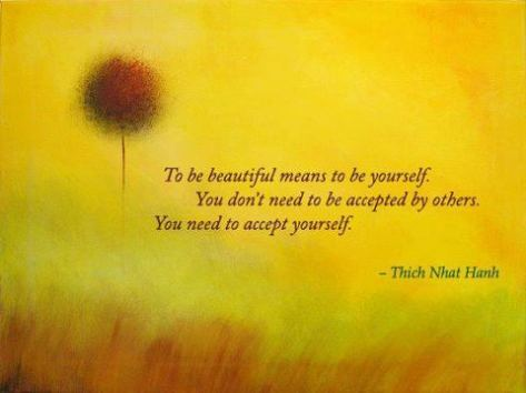 to be beautifulto beyourself