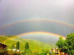 The rainbow is a promise to Noah and to all of us.