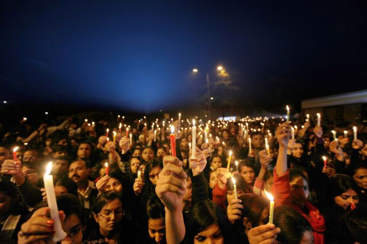 """Activists and caring Inkian citizen protest the rape and death of """"India's Daughter"""""""