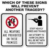 Which sign would make you feel safe?