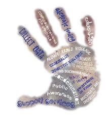 A handprint