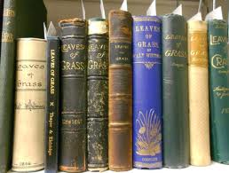 Volumes of Whitman's Leaves of Grass