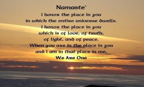 Namaste, Himdu path