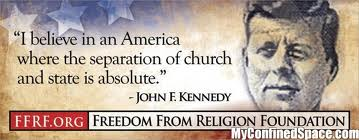 Kennedy quote re: Church and State