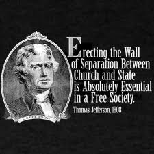 Thomas Jefferson on separation of church and state