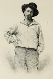 Sketch of Walt Whitman in his younger days