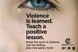 Don't teach your children to be victims or batterers.