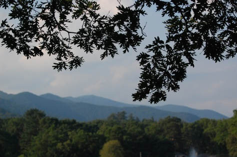 Seven Sisters Mountain twilight, Black Mountain. Photograph copyrighted by Barbara Mattio