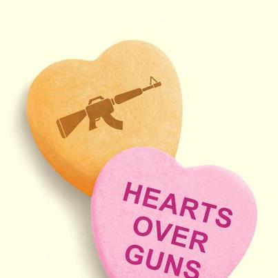 Hearts need to be more important than guns or knives.