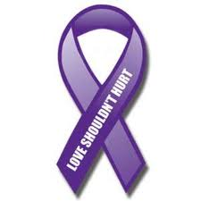 Purple is the color that represents Domestic Violence