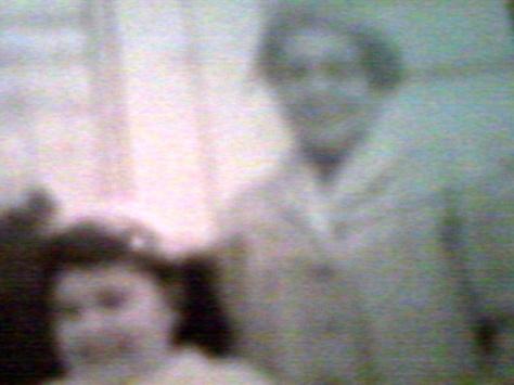 Grandma Caroline and myself