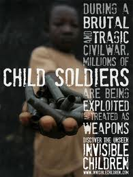 Child Soldiers are forced to fight--to kill or to die.