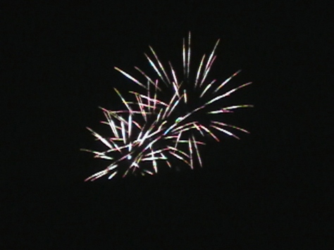 Fireworks After Concert
