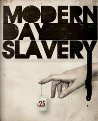 There is slavery in the twenty first century. We must stop it. We must decrease the demand.