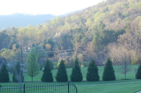 Blue Ridge Mountains, NC Photograph taken and copyrighted by Barbara Mattio 2013