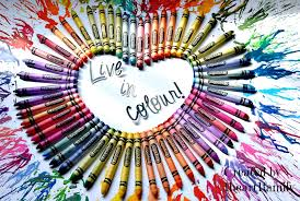 Live and love the colors of our lives.