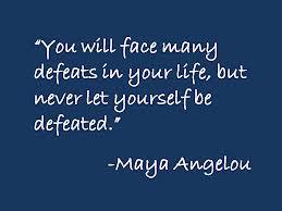 Maya Angelou's wisdom