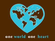 one world, many hearts beating as one. Love to all.