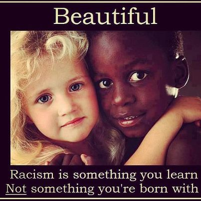 Children learn racism