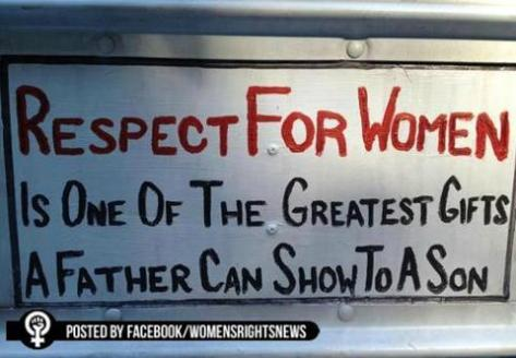 Respect all women or you are a misogyist