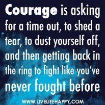 Human courage