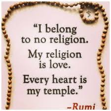 My religion is LOVE