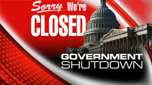 The United States Government is closed.