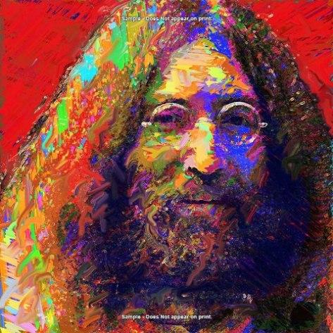 John Lennon from the Beattles.