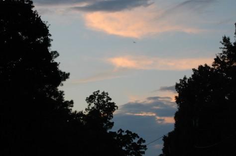 Sunset at Livingston Lake