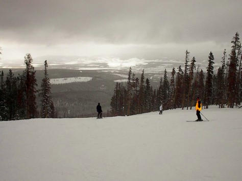 Utah skiing. So beautiful