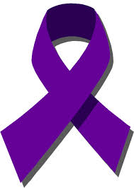 Purple ribbons signify that we do not accept Domestic Violence