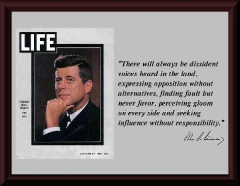 Words of JFK