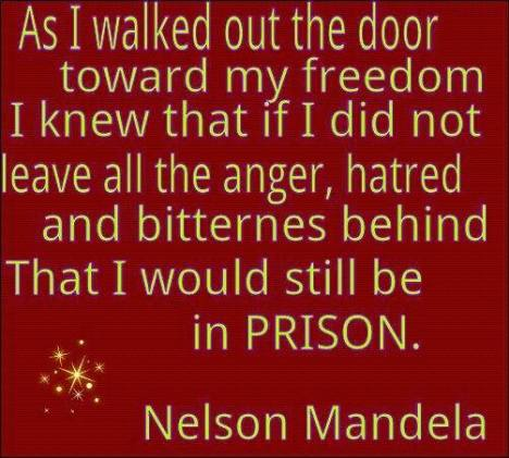 Wisdom of Mr. Mandela