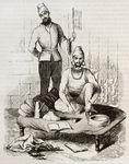 Sketch of Sufi meditating
