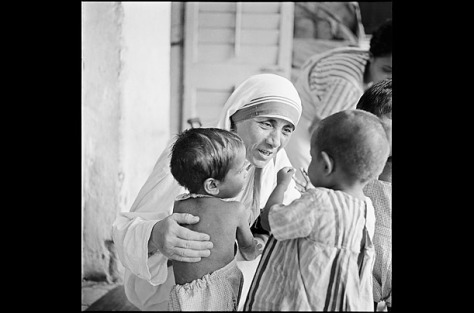 Mother Theresa in the early years of her ministry