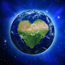 The earth is filled with the love from the Divine