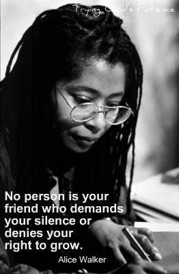 Alice Walker, feminist and author