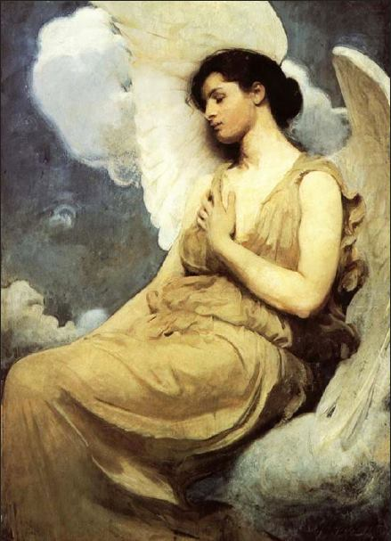 Angelic Woman for Peace