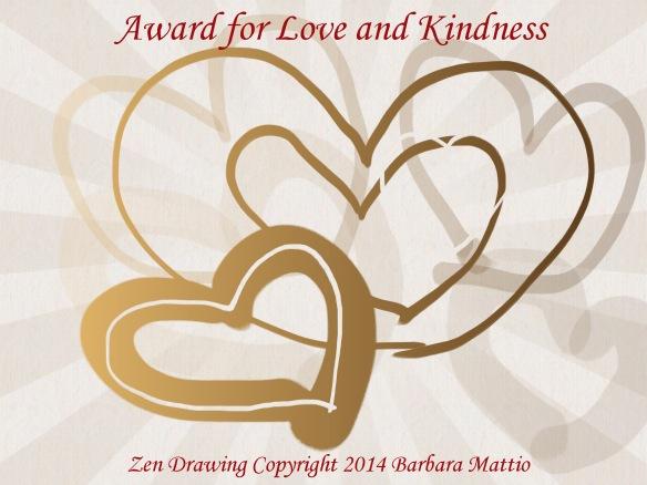 AwardForLoveandKindness