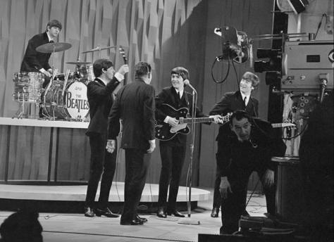 The Beatles fifty years ago