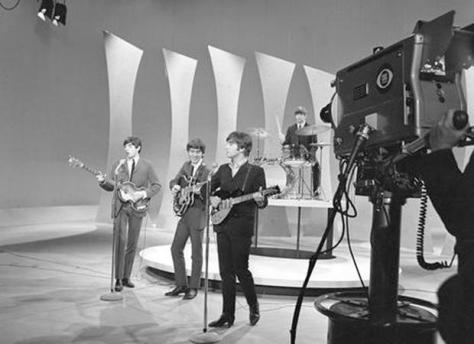 John Lennon, Paul McCartney and George Harrison