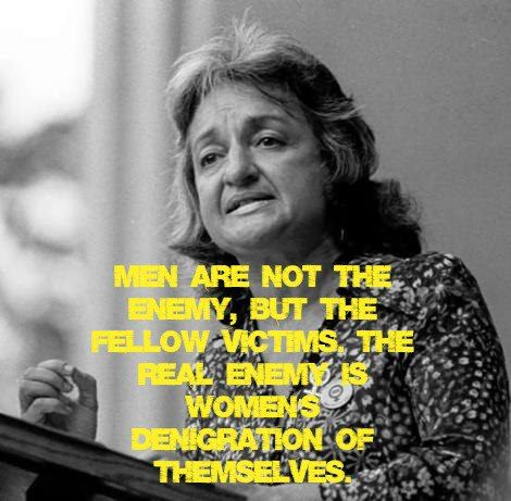 Betty Freidan, author of the Feminine Mystique