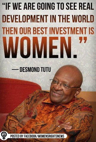 Quote by Desmond Tutu