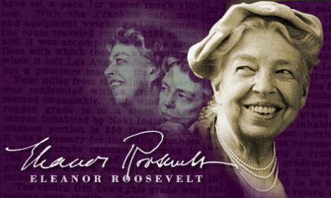 Eleanor Roosevelt was one of the first ladies who was a feminist