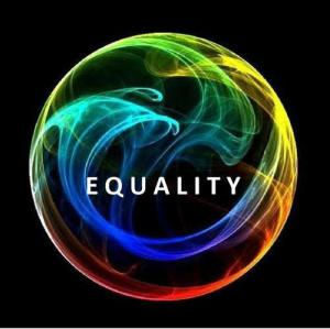 Equality. This is what all of life should be...equal