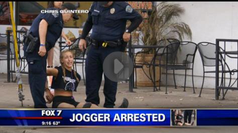 Jogger Arrested