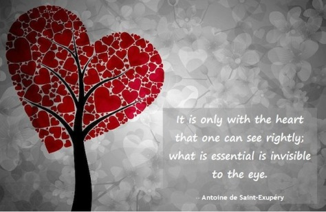 Do you look with your heart or do you miss the positive beauty in life?