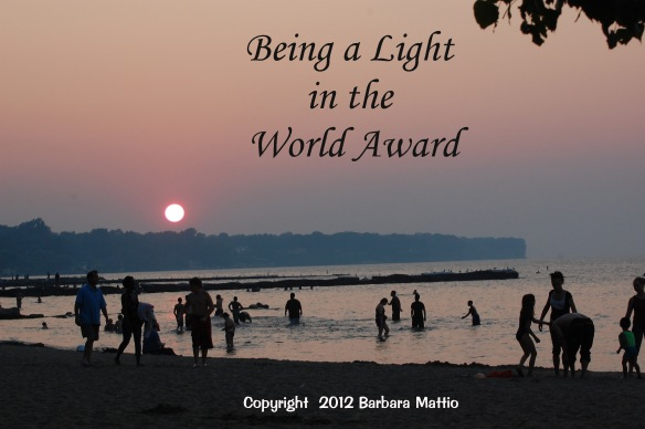 Being a Light in the World Award