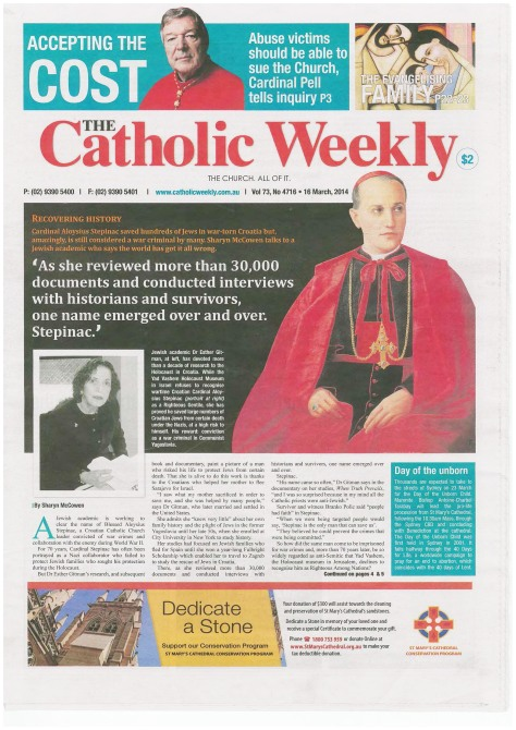 Catholic Weekly 16 March 2014_Page_1